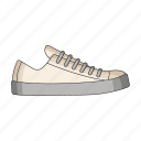 footwear, male, shoes, sneakers icon
