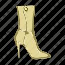 boot, female, footwear, shoes