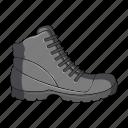 footwear, male, shoe, shoes icon