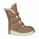 boot, female, footwear, shoes icon