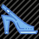clothing, footwear, peep, style, toe icon