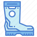boot, boots, fashion, footwear, wellington icon