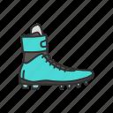 fashion, footwear, men shoe, running shoe, shoe, sports shoe, trail shoe icon
