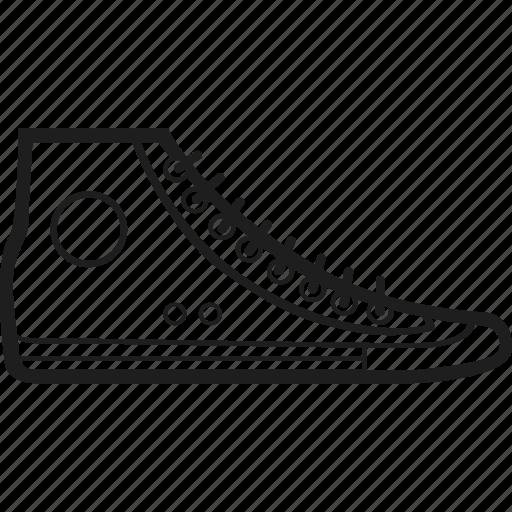 footwear, shoes, sneaker, trainer icon