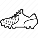cleat, footwear, shoes, trainer icon