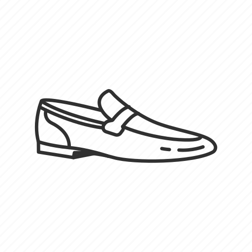 dress shoe, loafer, mens dress shoe, old man shoes, shoe, slip on icon