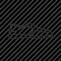 casual shoe, day shoe, footwear, shoe, slip on, slipons icon