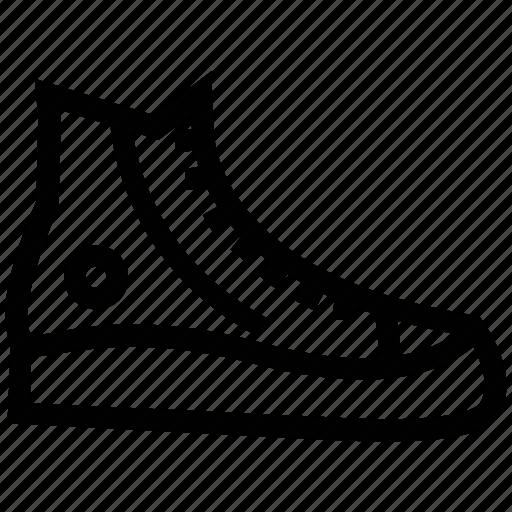 ankle canvas shoe, ankle lace power, canvas shoe, footwear, shoe icon