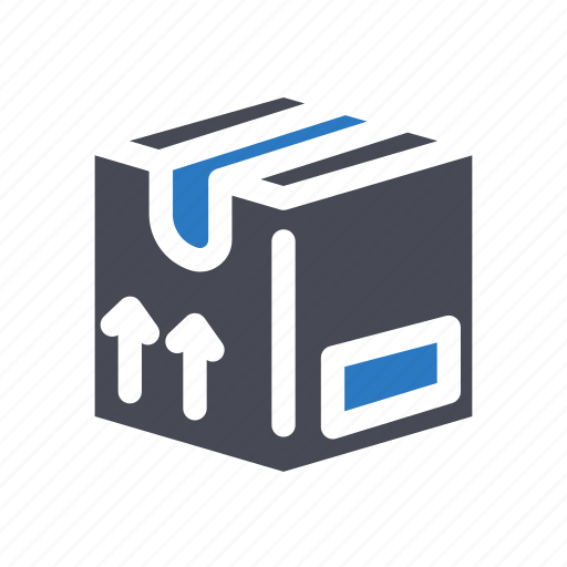 box, delivery, ecommerce, package, shopping icon