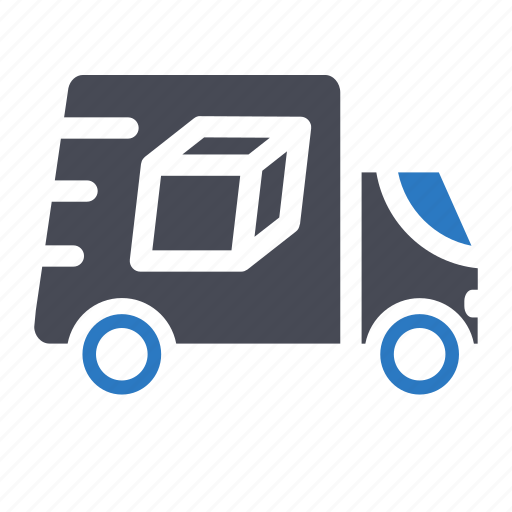 delivery, ecommerce, shopping, truck package icon