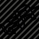 compact, fortnite, game, gun, line, smg, weapon
