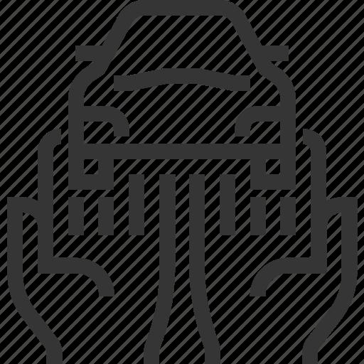 assurance, auto, car, insurance, service, transport, vehicle icon