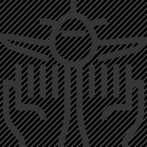 assurance, bl, flight, insurance, plane, protection icon