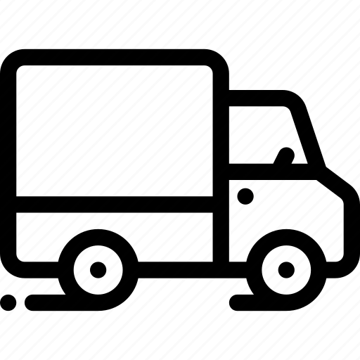 car, delivery, lorry, transport, vehicle icon