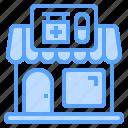 dispensary, drug, pharmacy, shop, store icon