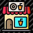 donut, drink, market, shop, store