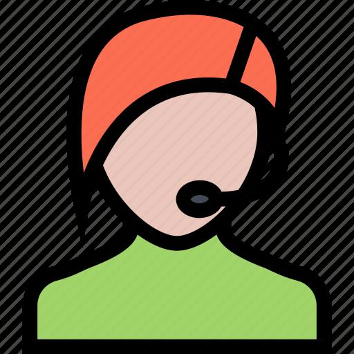 e-comerce, online shop, operator, purchase, shop, shopping icon