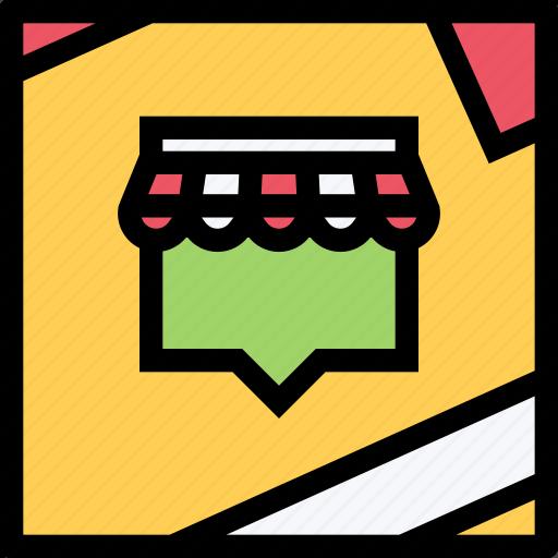 e-comerce, online shop, purchase, shop, shop location, shopping icon