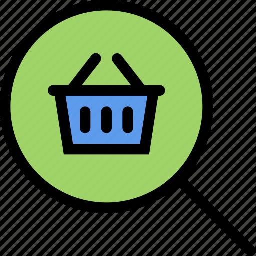 e-comerce, online shop, purchase, shop, shop search, shopping icon