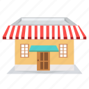 building, cafe, home, house, market, shop icon