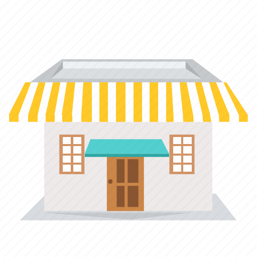 building, cafe, garden, home, house, market, shop icon
