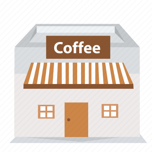 building, cafe, coffee, home, house, market, shop icon