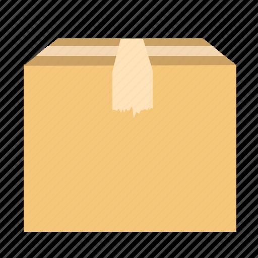 box, delivery, gift, send, track icon