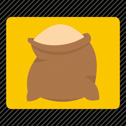 bag, bread, flour, food, ingredient, sack, wheat icon