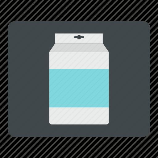 beverage, box, clean, drink, empty, milk, space icon