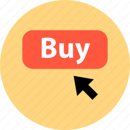 bought, buy, buying, click, merchandise, shopping, sold icon