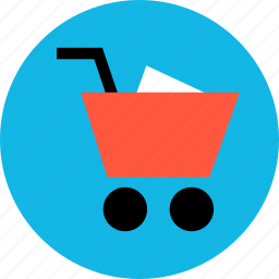 bought, buying, cart, item, merchandise, shopping, sold icon