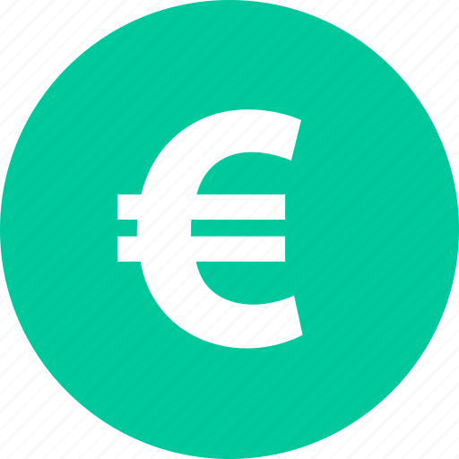 bought, buying, euro, merchandise, shopping, sold icon