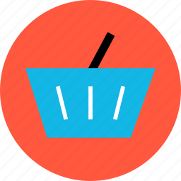 bag, bought, buying, hand, merchandise, shopping, sold icon
