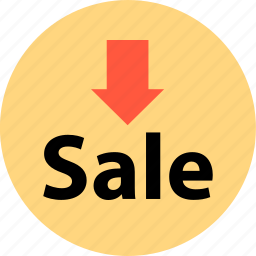 arrow, bought, buying, merchandise, sale, shopping, sold icon