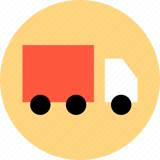 bought, buying, merchandise, ship, shopping, sold, truck icon