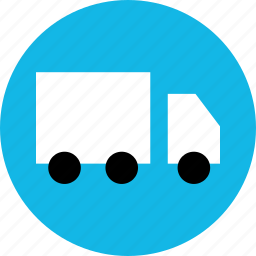 bought, buying, merchandise, shipping, shopping, sold, truck icon