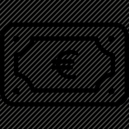 Euro, bag, bank, banking, finance, loan, money icon - Download on Iconfinder