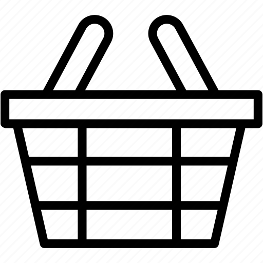 basket, buy, cart, ecommerce, groceries, shopping icon