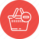 bag, cart, complete, ecommerce, remove, shopping icon