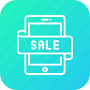 account, mobile, money, payment, sale, shopping icon