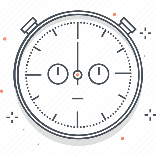 clock, cog, stopwatch, time, timer, watch icon