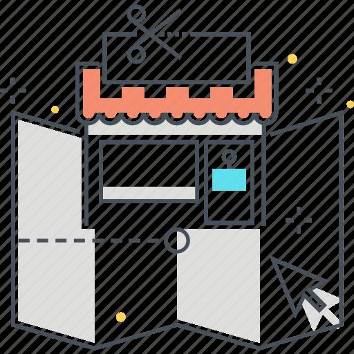 cursor, info, loaction, map, shop icon