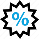 online, percent, percentage, save, savings, shop, shopping icon
