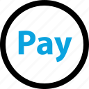 coin, now, online, pay, shop, shopping, sign icon