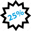 five, off, online, percent, save, shopping, twenty icon