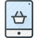 buy, mobile, online, shopping, tablet icon