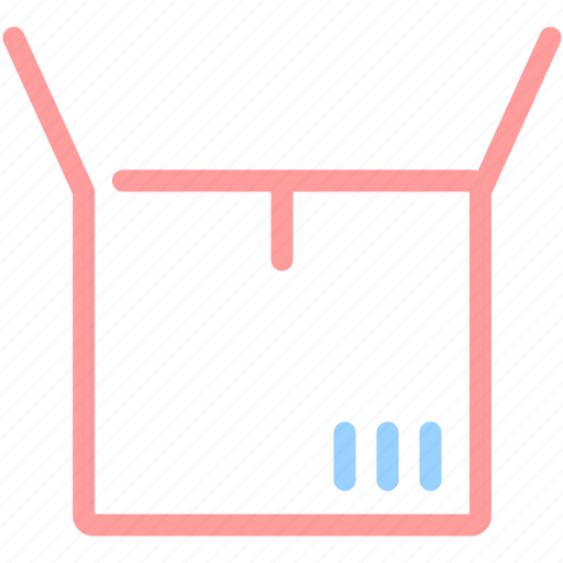 box, delivery, ecommerce, logistics, package, shipping icon