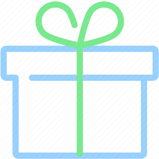 birthday, box, christmas, delivery, package, present, ribbon icon