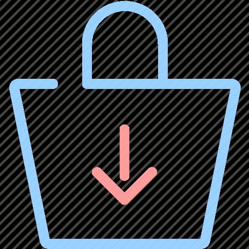 bag, buy, download, ecommerce, shop, shopping, shopping bag icon