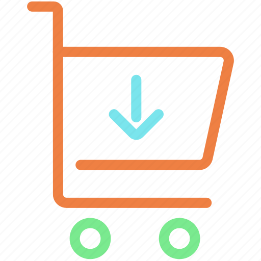 buy, cart, download, shopping, shopping cart, store, trolley icon